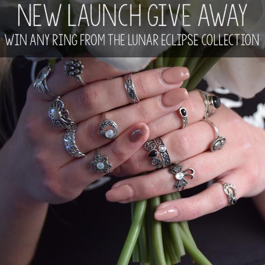 Enter our Lunar Eclipse giveaway to win any ring from our new collection!