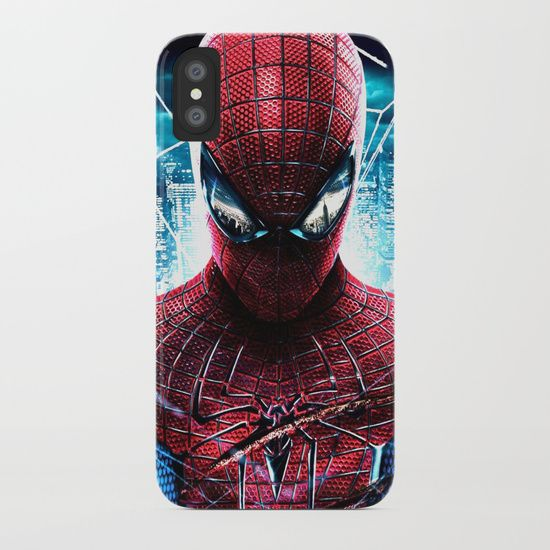 Protect your iPhone with a one-piece, impact resistant, flexible plastic hard case featuring an extremely slim profile. Simply snap the case onto your iPhone for solid protection and direct access to all device features. https://society6.com/product/spider-man826278_iphone-case?curator=2tanduk