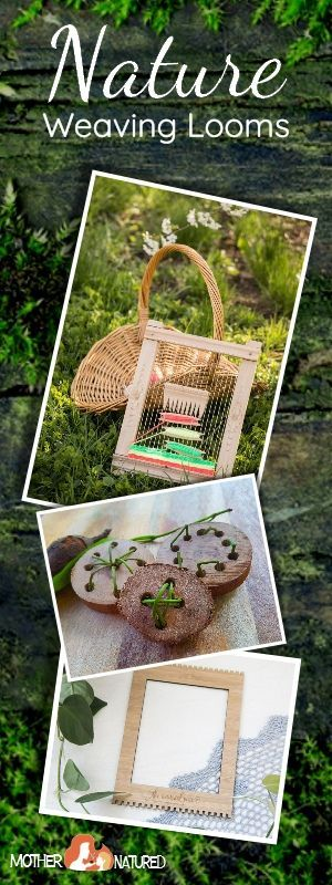 Nature Weaving looms for kids