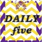 LSU tigers-themed Daily five posters.    Just print and laminate!...