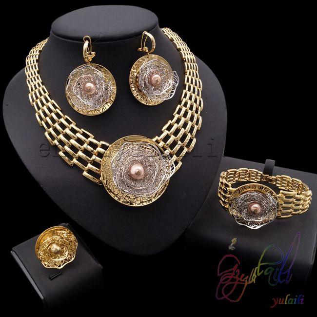 Fashion Round Necklace Pendant Jewelry Set //Price: $150.00 & FREE Shipping //     #jewelry