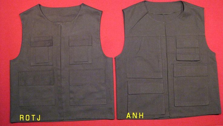 Just for comparison - not screen accurate!   han solo vest pattern - Google Search