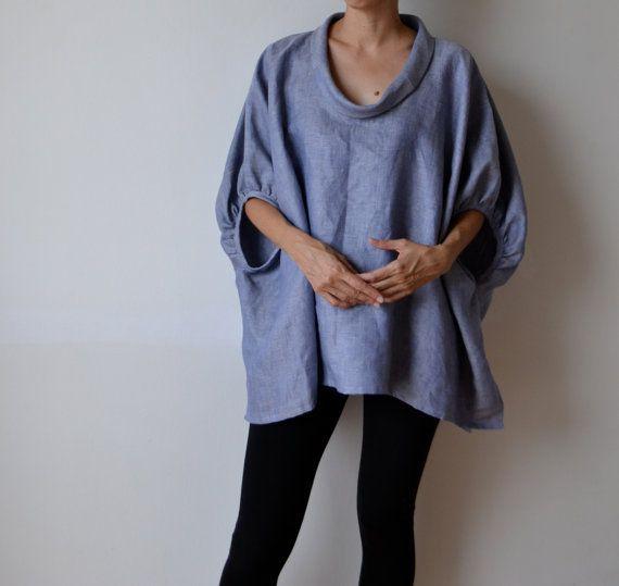 Best 25 Linen Tunic Ideas On Pinterest Linen Dresses