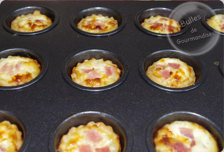 Mini quiches jambon / fromage