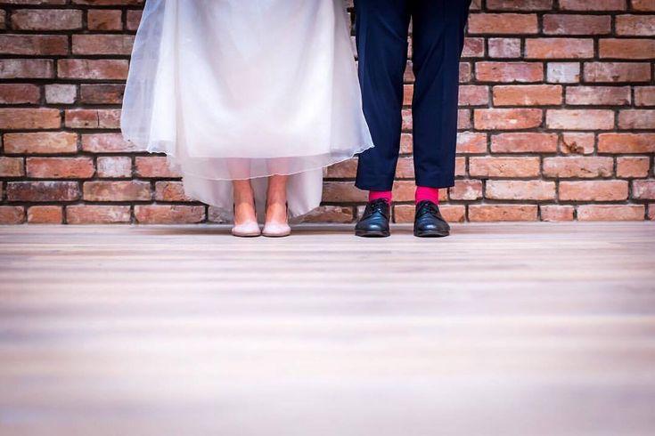 It's Friday 🎉 Get on your dancing shoes… #weekend #dressedup #ilikepinksocks #weddingshoes