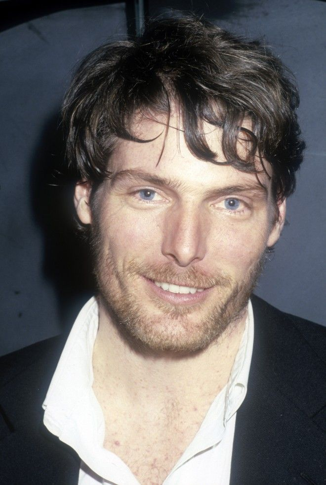 I was never really a fan of Christopher Reeve's films, but he was handsome.