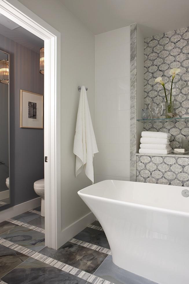 Love a separate toilet room!!! Sarah 101 Season 2 | Refreshed Master Bath