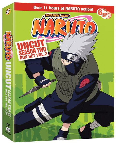 Naruto Season 2 DVD Box Set 2 Uncut
