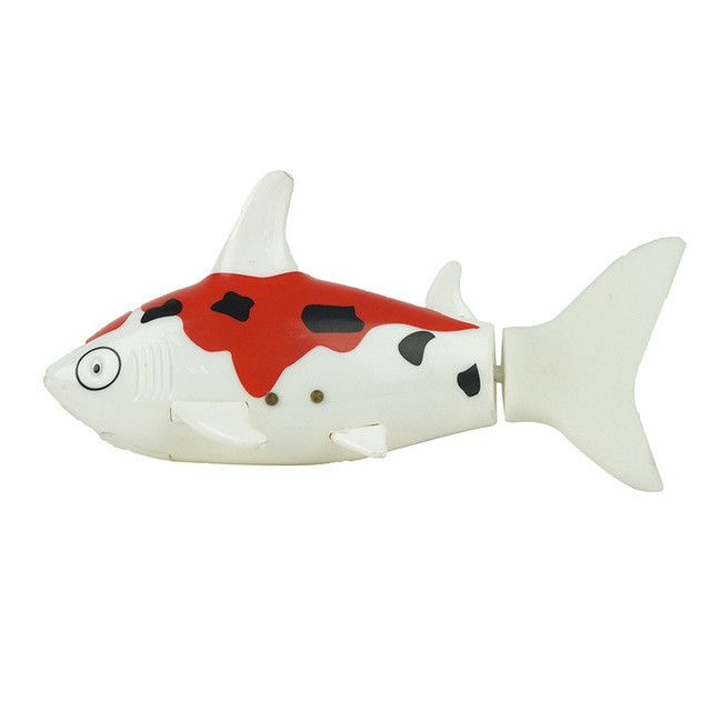 2017 Hot Sale 3CH 4 Way RC Shark Fish Coke Can Radio Control RC Mini Electronic Shark Fish Boat Kids Toy Gift