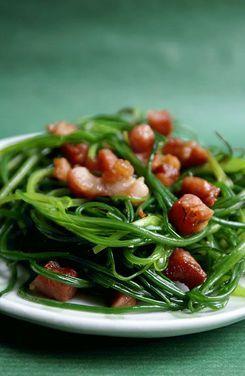 Ricetta: Agretti saltati con pancetta affumicata
