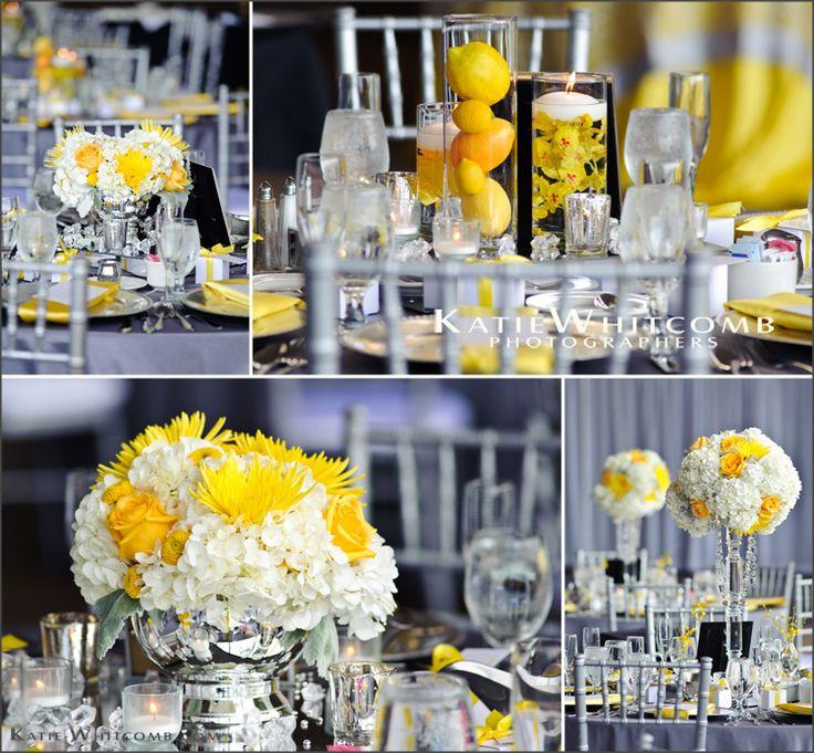 282 Best Black & Yellow Weddings/reception Images On Pinterest