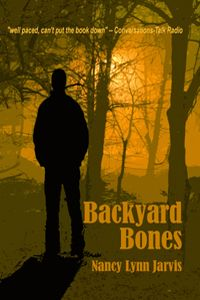Backyard Bones. Regan doesn't like being compared to Nancy Drew, but perhaps she is more like Nancy than Miss Marple.