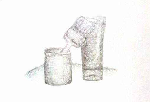 By me. It's still-life. #pencil