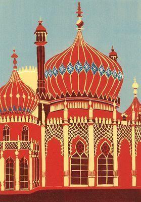 Brighton Pavilion (II) by Jennie Ing