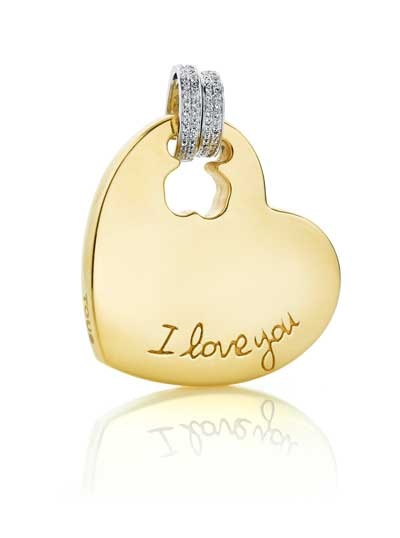Tous-i-love-you-charm-gold