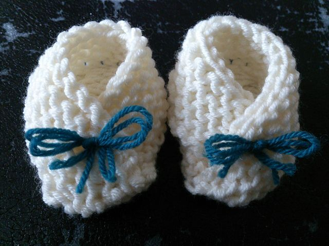 Ravelry: lotiel's Chaussons mignons