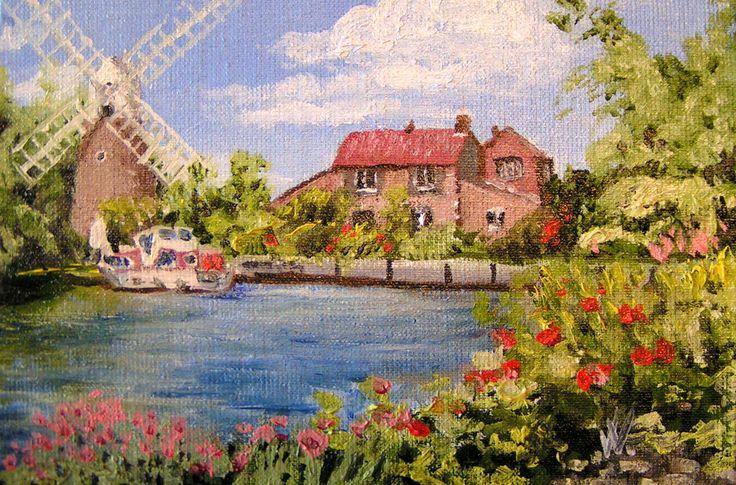 Holland mill by methosw.deviantart.com on @deviantART