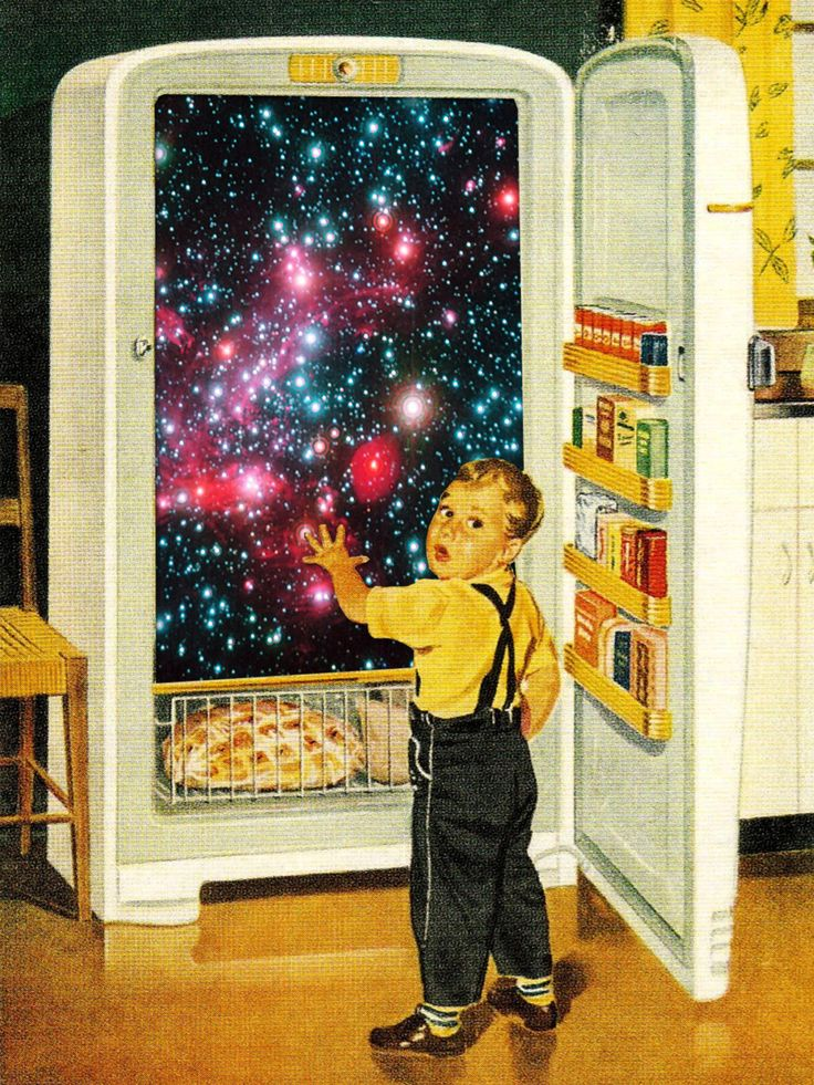 No More Galaxies for Today, Timmy! Eugenia's collages