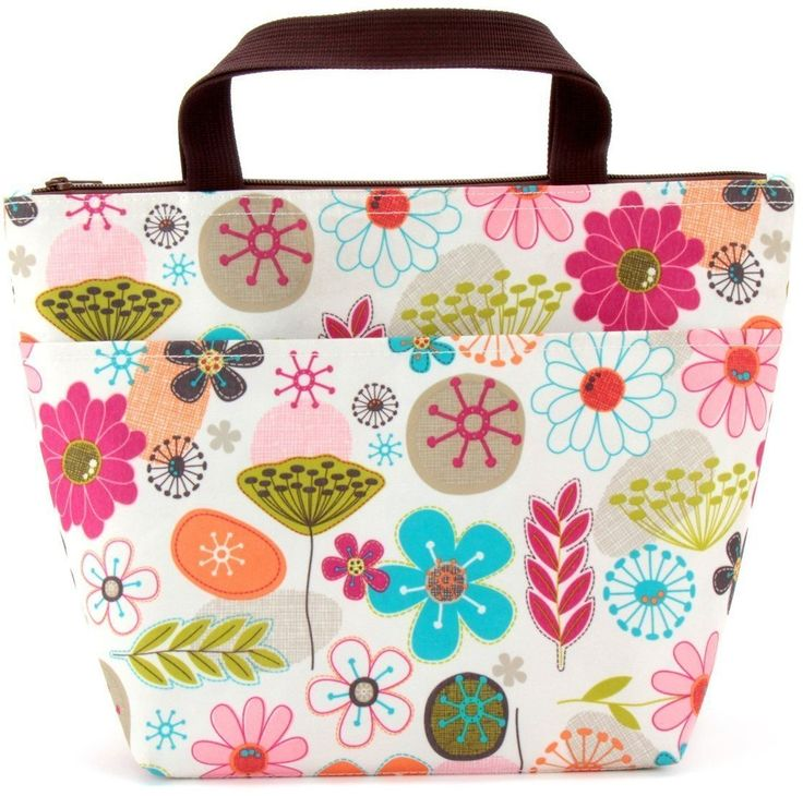 Reusable Insulated Lunch Tote Bag