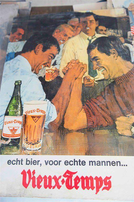 vintage beer ad in German!