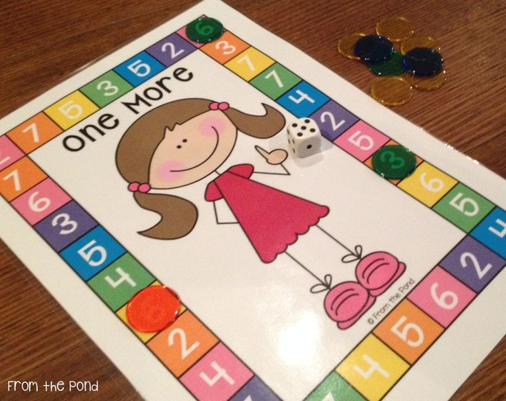 One More One Less printable game