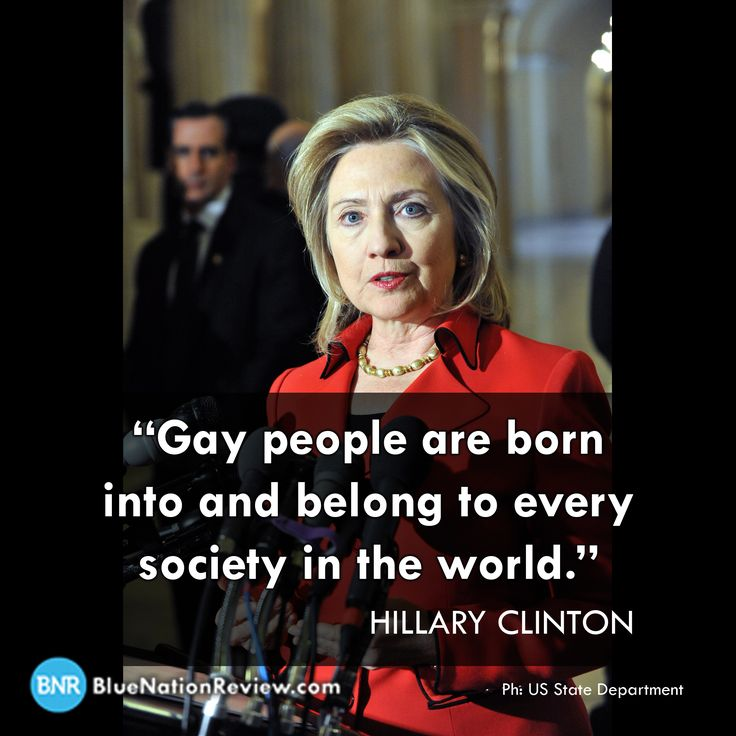 5 Reasons Why LGBT People Should Vote for Hillary Clinton in 2016