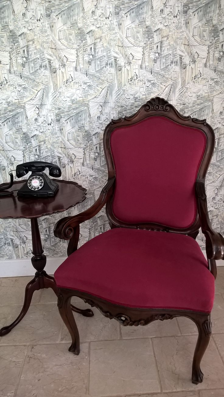 old armchair, newly upholstered, 1600 PLN
