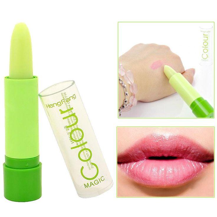 2016 New brand Long Lasting Lip Gloss Waterproof Lipstick Makeup Magic Colour Temperature Change Lipgloss Lip Blam beauty M01182