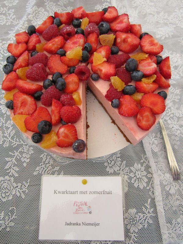 Kwarktaart met zomerfruit - Festival der Zoete Verleidingen