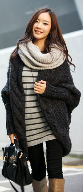 Fall Outfits loveee big sweaters