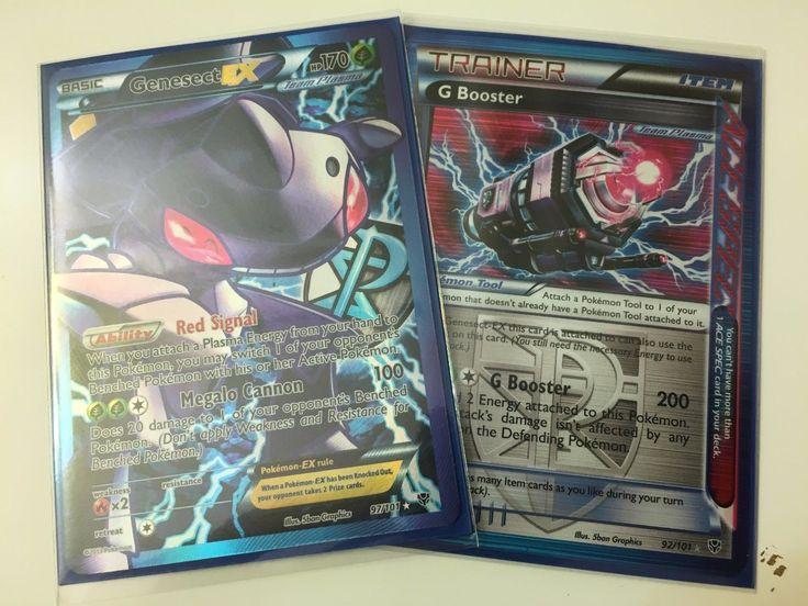 Genesect EX Full Art Ultra Rare ( G Booster)  Pokemon TCG (Plasma Blast 97) NM