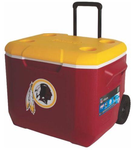 Washington Redskins 60qt Rolling Cooler