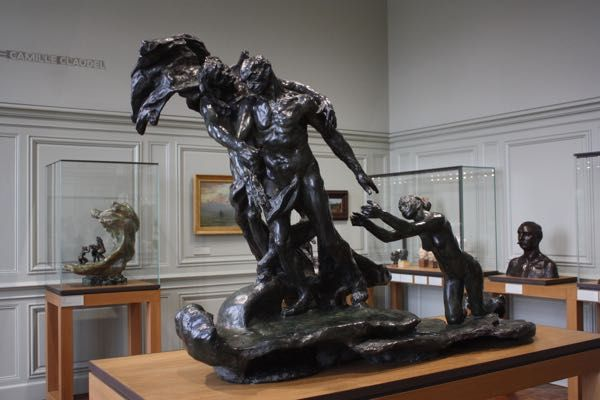 Camille Claudel Age of Maturity, Rodin Museum Paris Discovering new ways to see museums...through the movies: http://www.francetraveltips.com/another-museum-see-differently-movies/