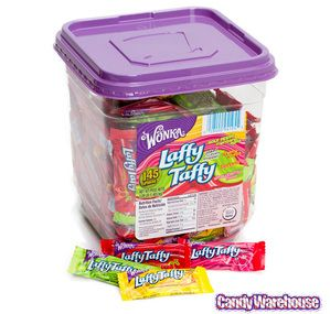 Just found Wonka Laffy Taffy Candy - Assorted: 145-Piece Tub @CandyWarehouse, Thanks for the #CandyAssist!