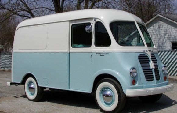 1959 International Harverster Metro Van Restored Ice Cream Truck