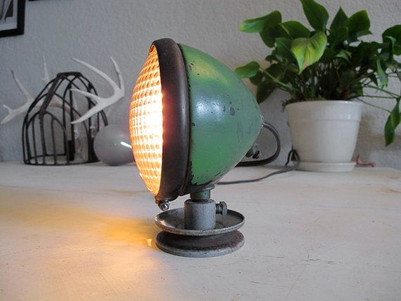 Antique Tractor Lamp