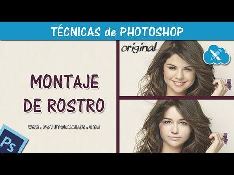 Cambiar caras con Photoshop Tutorial Español - YouTube