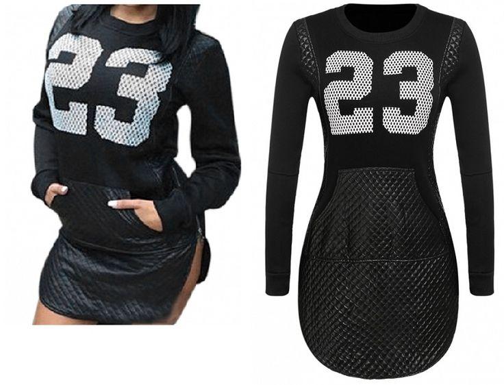 Mini robe fashion noire effet matelassé zip 23 - bestyle29.com
