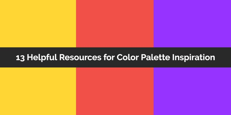 Need some color palette inspiration? Check out this killer list of resources so you'll never run out of color ideas ever again.
