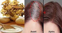 Une astuce pour se débarrasser des cheveux blancs une fois pour toutes ! Comment…