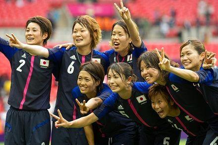 初の決勝進出を決めたなでしこジャパン。金メダルを懸けてアメリカと戦う