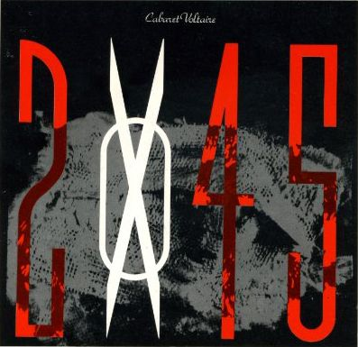 Cabaret Voltaire '2x45' cover (1986), by Neville Brody