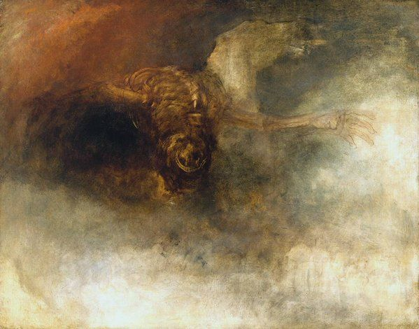 Joseph Mallord William Turner-Death on a Pale Horse