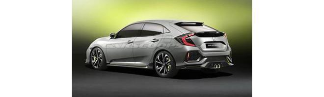 Filtrado! Esta es la cara del nuevo Honda Civic que llegará a los concesionarios en 2017