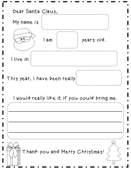 Would be a good writing activity for around Christmas time! Also could teach about envelopes and mailing with this activity too!