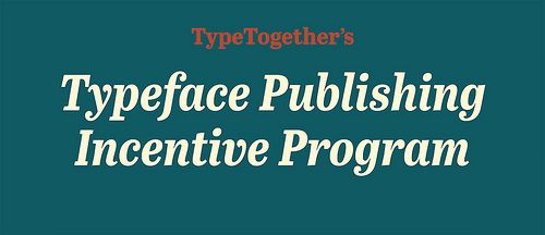 We are very pleased to announce the 3rd edition of TT's Typeface Publishing Incentive Program, open to all currently enrolled students of typeface design. The winning student will be given guidance and support in developing their career after graduation, through critical, expert-feedback, economic support and a publishing contract with TypeTogether.