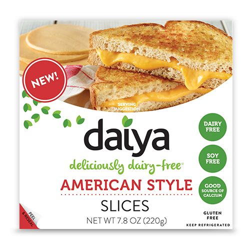 American Style Slices - Daiya Foods, Deliciously Dairy-Free Cheeses, Meals & More