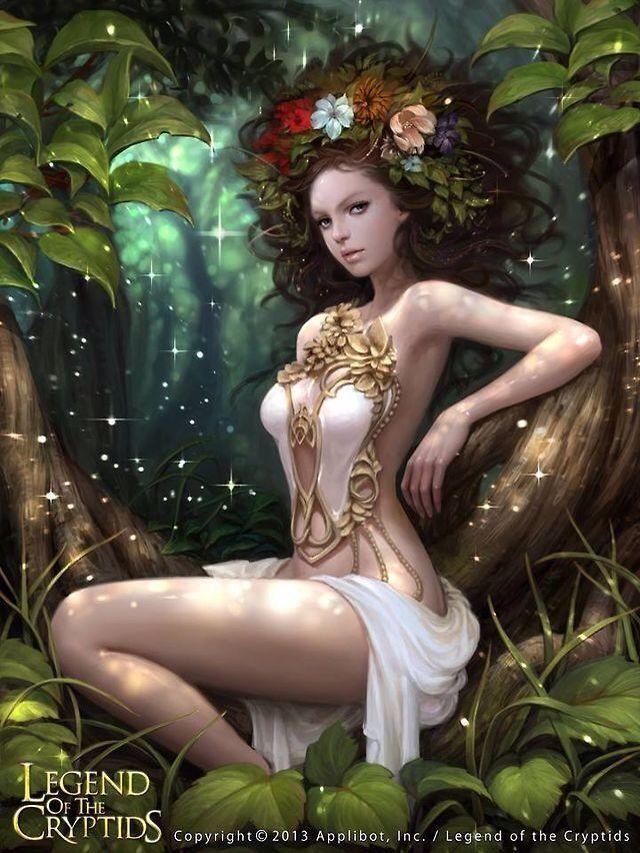 Guardiana de la naturaleza Legend of the cryptids