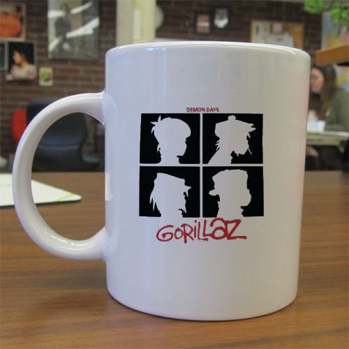 Gorillaz Demon Days mug gift Ceramic Mug Quote Mug Custom Mug