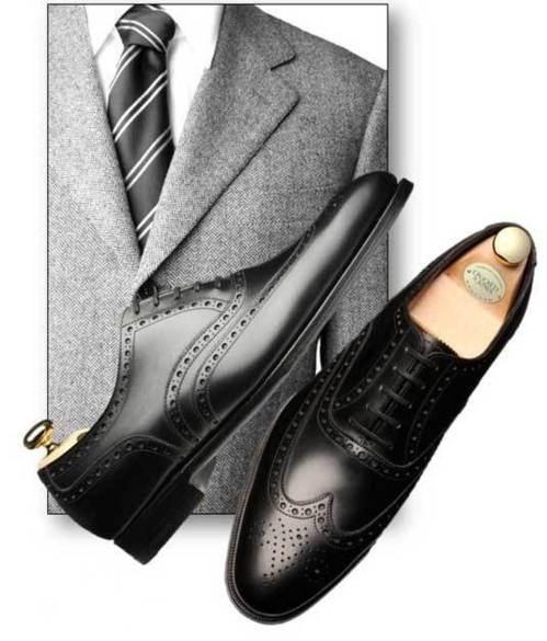 chaussure de luxe : nouveauté   Atherstone full brogue Crockett and Jones